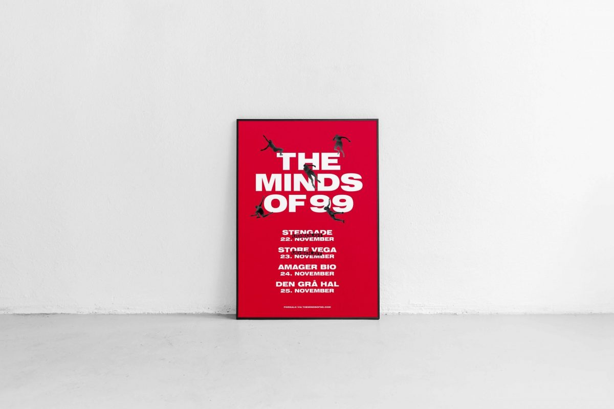 The Minds Of 99 – Solkongen Tour Poster